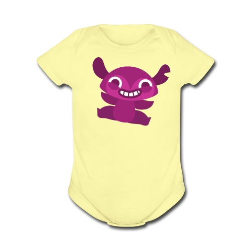 Scampi Baby Outfit - Organic Short Sleeve Baby Bodysuit