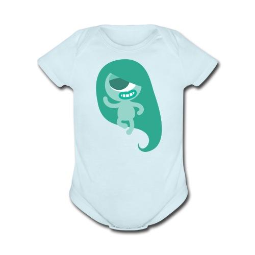 Yoshi Baby Outfit - Organic Short Sleeve Baby Bodysuit