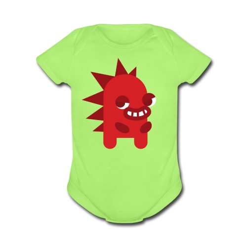 Rocky Baby Outfit - Organic Short Sleeve Baby Bodysuit