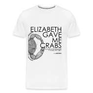 T-Shirts ~ Men's Premium T-Shirt ~ Crabs! (Mens, Black Text)