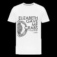T-Shirts ~ Men's Premium T-Shirt ~ Crabs! (Mens, Black Text)