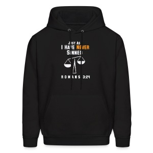Justified: Just As I Have Never Sinned - Men's Hoodie