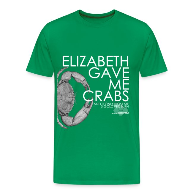 Crabs! (Mens, White Text)