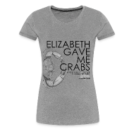 T-Shirts ~ Women's Premium T-Shirt ~ Crabs! (Ladies, Black Text)