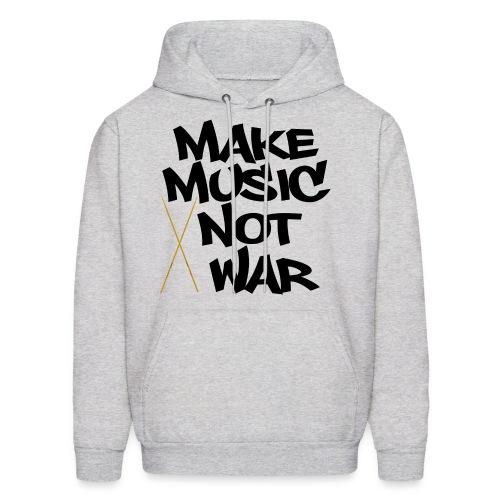 Make Music Not War Men's Sweatshirt - Men's Hoodie