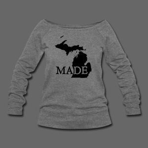 Michigan Made - Women's Wideneck Sweatshirt