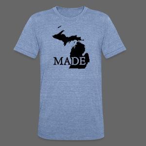 Michigan Made - Unisex Tri-Blend T-Shirt
