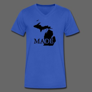 Michigan Made - Men's V-Neck T-Shirt by Canvas
