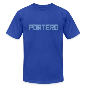 Portero Men's Tee - Men's T-Shirt by American Apparel