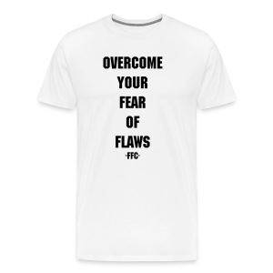Fear Of Flaws White - Men's Premium T-Shirt