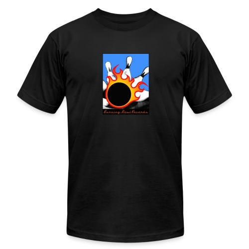 Burning Bowl Records - Men's Cotton T-Shirt - Men's  Jersey T-Shirt