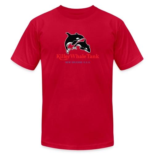 'Killer Whale Tank' Tee - Men's  Jersey T-Shirt