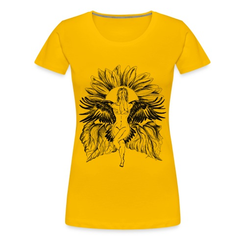 Yoga Tree Eagle  - Women's Premium T-Shirt
