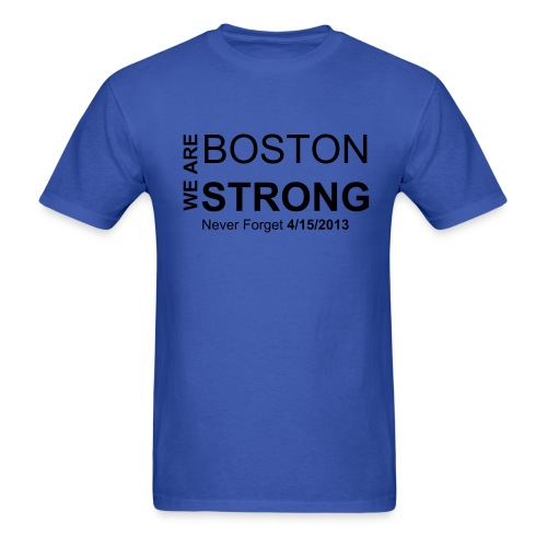 Boston Strong T- Shirts - Men's T-Shirt