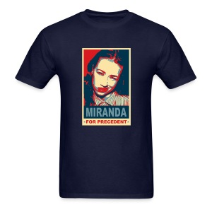 Miranda for Precedent - Men's T-Shirt