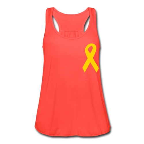Support Our Troops - Women's Flowy Tank Top by Bella