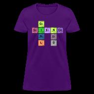 Women's T-Shirts ~ Women's T-Shirt ~ science girl nerd - periodic element scramble