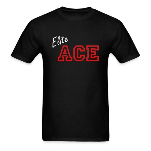 Elite ACE Personalized Dark - Men's T-Shirt