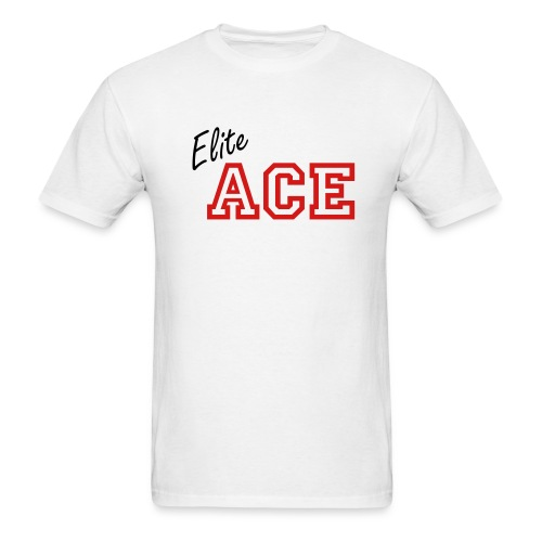 Elite ACE Personalized White - Men's T-Shirt