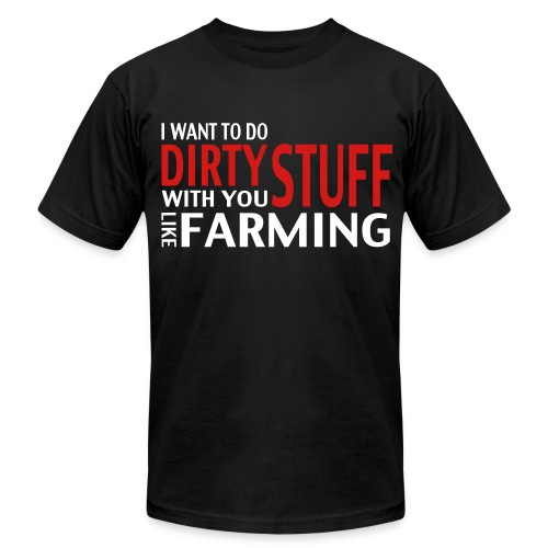 LikeFarming - Men's  Jersey T-Shirt