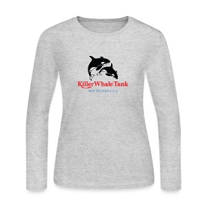 'Killer Whale Tank' Long-Sleeve (W) - Women's Long Sleeve Jersey T-Shirt