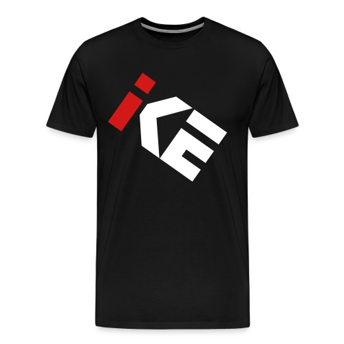 Kode Icon Short Sleeve - Red and White - Men's Premium T-Shirt