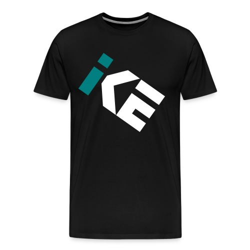 Kode Icon Short Sleeve - Teal and White - Men's Premium T-Shirt