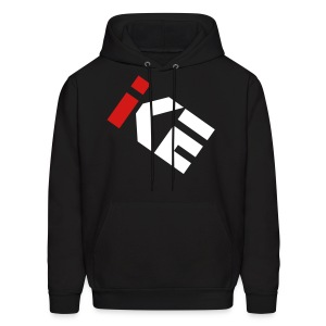 Kode Icon Hoodie - Red and White - Men's Hoodie