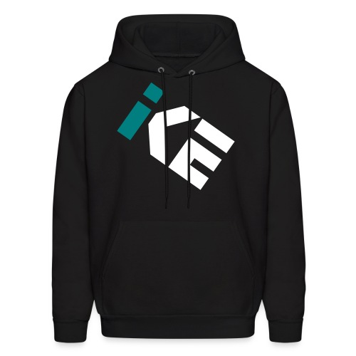 Kode Icon Hoodie - Teal and White - Men's Hoodie