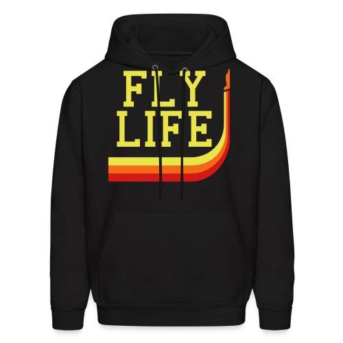 Fly Life Proper - Men's Hoodie