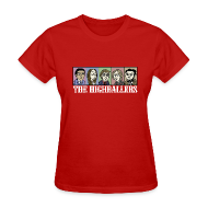 Women's T-Shirts ~ Women's T-Shirt ~ The Highballers King of the Plains T-Shirt (Ladies)