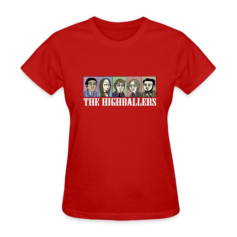 The Highballers King of the Plains T-Shirt (Ladies) - Women's T-Shirt