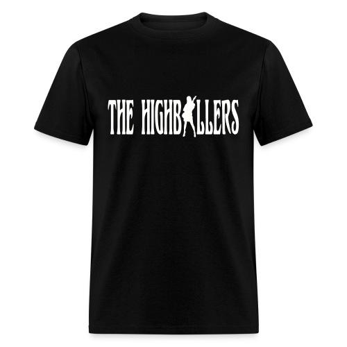 The Highballers Victoria Classic Cool Black Men's T-Shirt - Men's T-Shirt