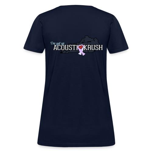Official acoUstiKrush Women's T-shirt  - Women's T-Shirt