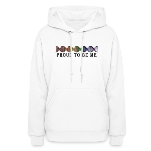 LGBT Pride Rainbow DNA - Women's Hoodie