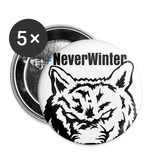NeverWinter Wolf - Small Buttons