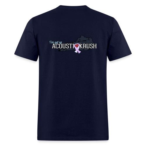 Official acoUstiKrush Men's T-Shirt - Men's T-Shirt