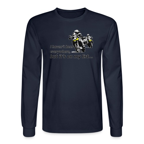 Dualsport - on my list 2 / Longsleeve UNISEX - Men's Long Sleeve T-Shirt
