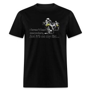 Dualsport - on my list 2 / Shirt UNISEX - Men's T-Shirt