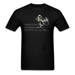 Dualsport - on my list 2 / Shirt UNISEX - Men's T-Shirt