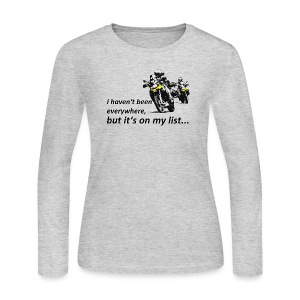 Dualsport - on my list 2 / Longsleeve LADIES - Women's Long Sleeve Jersey T-Shirt