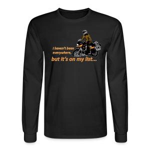 Dualsport - it's on my list 1 / Longsleeve UNISEX - Men's Long Sleeve T-Shirt