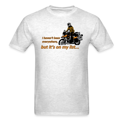 Dualsport - it's on my list 1 / Shirt UNISEX - Men's T-Shirt