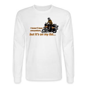 Dualsport - it's on my list 1 / Longsleeve UNISEX - Men's Long Sleeve T-Shirt