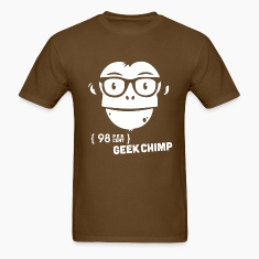98 percent geek chimp T-Shirts
