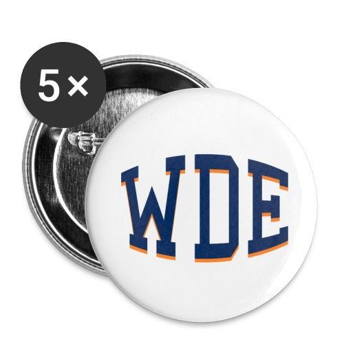 WDE - War Damn Eagle - Auburn t-shirt - Large Buttons