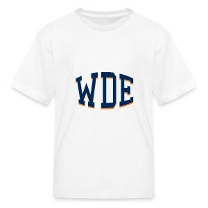WDE - War Damn Eagle - Auburn Kids Shirt - Kids' T-Shirt
