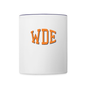 War Damn Eagle WDE Coffee Cup/Mug - Contrast Coffee Mug