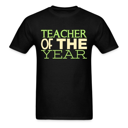 Teacher of the Year - Men's T-Shirt