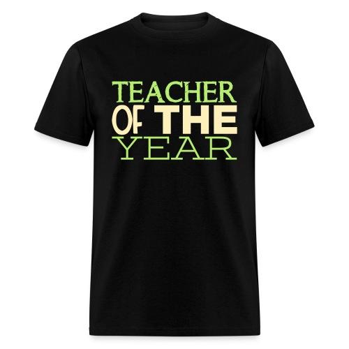 Teacher of the Year - Men's T-Shirt
